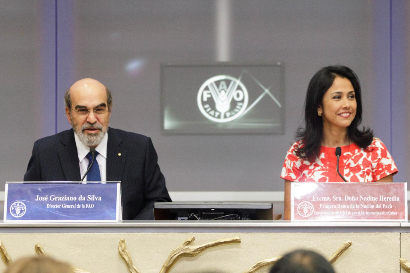 FAO Primera Dama de la Naciòn del Perù